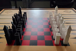 3D Printed Chess Set by Arthur Wang