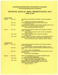 1995 Seventh Annual IMSA Presentation Day by Illinois Mathematics and Science Academy