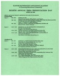 1996 Eighth Annual IMSA Presentation Day by Illinois Mathematics and Science Academy