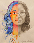 Self-Portrait by Priyankka Krishnan '17