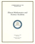 04. Commencement of the Class of 1995 by Illinois Mathematics and Science Academy
