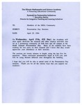 4. 1994 Sixth Annual IMSA Presentation Day
