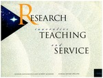 9. 1994-95 Annual Report, RESEARCH innovative TEACHING and SERVICE