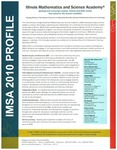 09. IMSA 2010 Profile by Illinois Mathematics and Science Academy