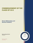 04. Commencement of the Class of 2015 by Illinois Mathematics and Science Academy