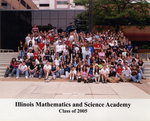 2005 Class Photograph by Illinois Mathematics and Science Academy