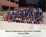 2006 Class Photograph by Illinois Mathematics and Science Academy