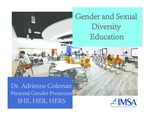 Gender and Sexual Orientation Education by Adrienne Coleman