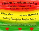 2015 African American Read-In