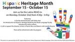 2017 Hispanic Heritage Month: Latinx Read-In