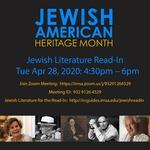 2020 Jewish Literature Read-In