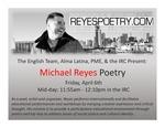 Poetry Month Series: Michael Reyes