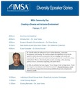Diversity Speaker Series: Dr. David Stovall by Illinois Mathematics and Science Academy