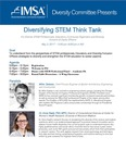 1st Annual Diversifying STEM Think Tank