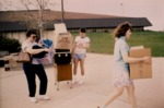Charter Class Move-In Day 1986 by Illinois Mathematics and Science Academy