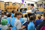 2018 Family Reading Night: Storytime in the library by Information Resource Center