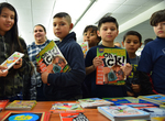 2019 Family Reading Night: Book Give-Away by Illinois Mathematcis and Science Academy