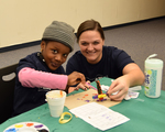 2019 Family Reading Night: Crafts by Illinois Mathematics and Science Academy
