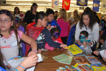 2009 Family Reading Night: Book Give-Away by Illinois Mathematics and Science Academy