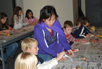 2009 Family Reading Night: Student Helpers by Illinois Mathematics and Science Academy