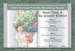 "2015 10th Annual Family Reading Night : ""Read,Think & Go Green!!! @IMSA"" by Angitha Bright '18"