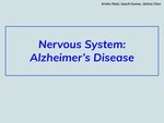 Nervous System: Alzheimer's Disease