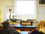 """Particle Physics in the High School Classroom"""