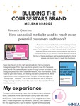 Building the Coursestars Brand by Melena Braggs '21