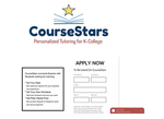 Internship with CourseStars