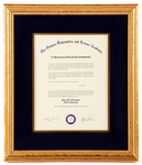 Honorary Membership in the Charter Class of 1989