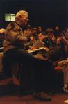 Dr. Lederman with IMSA Students