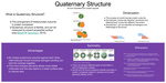 Poster 5: Quaternary Structure by Arun Arjunakani '16 and Joseph Jagusah '16