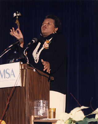 """An Afternoon with Maya Angelou"""