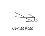 """Reclining: """"Corpse Pose"""" by Mary Myers"""