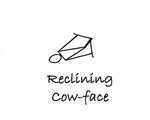 """Reclining: """"Cow-Face"""" by Mary Myers"""