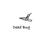 """Reclining: """"Dead Bug"""" by Mary Myers"""