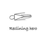 """Reclining: """"Hero"""" by Mary Myers"""