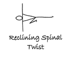 """Reclining: """"Spinal Twist"""" by Mary Myers"""