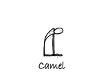 """Sitting: """"Camel"""" by Mary Myers"""