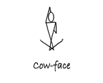 """Sitting: """"Cow-Face"""" by Mary Myers"""