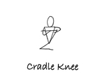 """Sitting: """"Cradle Knee"""" by Mary Myers"""