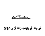 """Sitting: """"Forward Fold"""" by Mary Myers"""